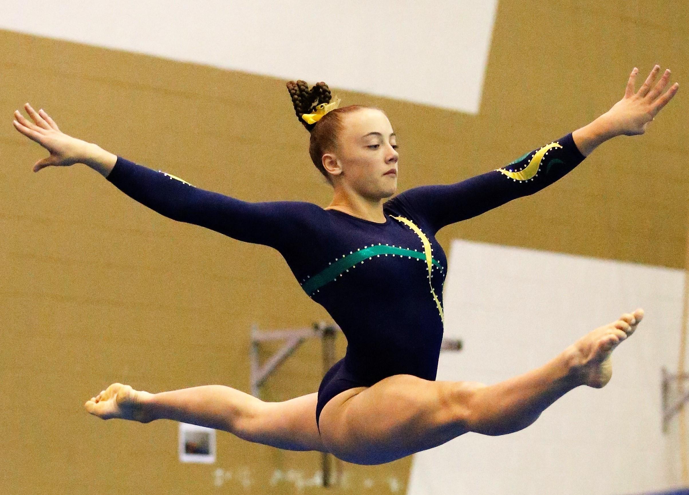 Gymnasts Shine at QGSSSA Artistic Meet