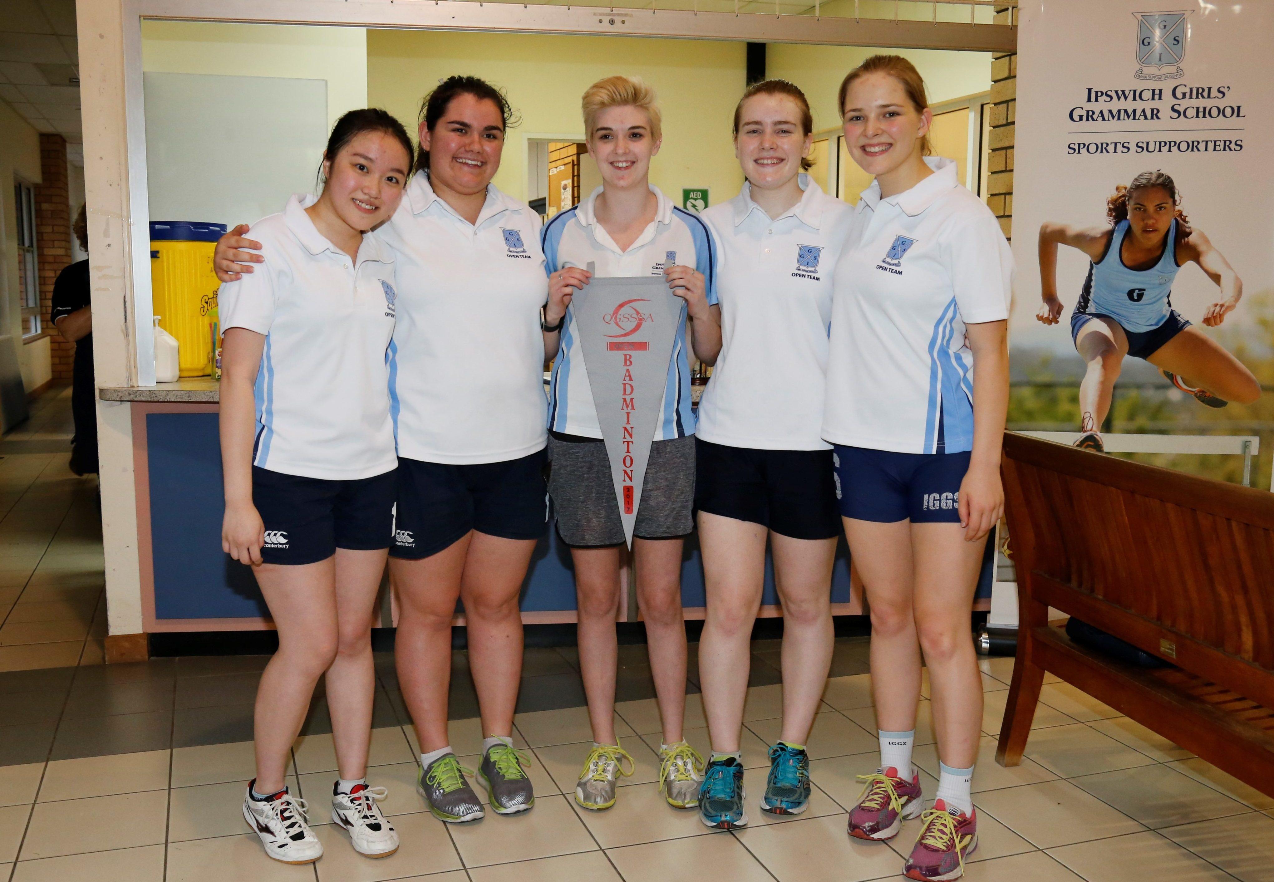 Open Badminton Premiers: IGGS