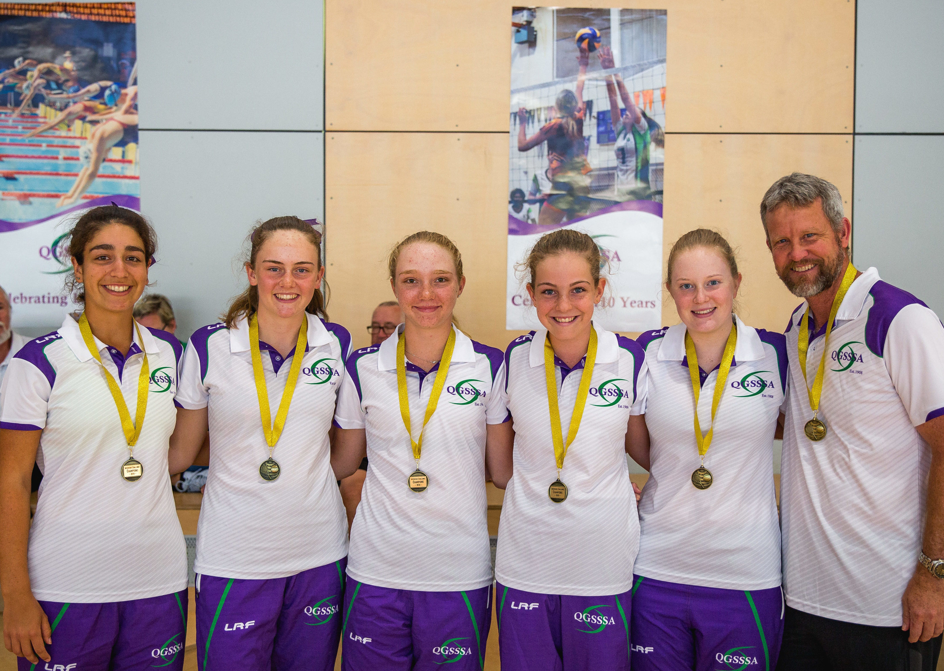 QG Tennis Girls Win Gold