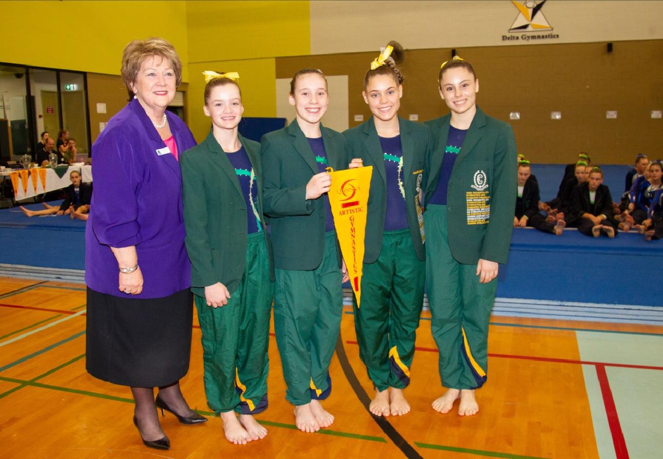 Gymnasts Shine at QGSSSA Artistic Gymnastics Championships